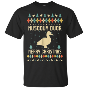 Muscovy Duck Ugly Christmas Sweater T-shirt Gift For Xmas