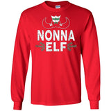 ELF Nonna Season Matching Christmas T-Shirt Family Xmas