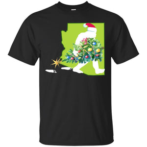 Arizona Bigfoot State Christmas Tree T Shirt T-Shirt Mugs