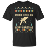 Indian Ringneck Ugly Christmas Sweater T-shirt Gift For Xmas