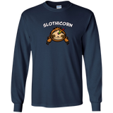 Slothicorn Magical Unicorn Sloth Funny Cartoon T-Shirt