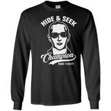 Hide and Seek Champion - Funny DB Cooper T-Shirt