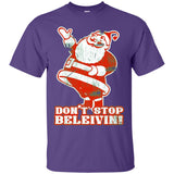 Don't Stop Believin Christmas Holiday Funny