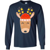 Cool Christmas Reindeer T-Shirt - Softball Shirt for Xmas
