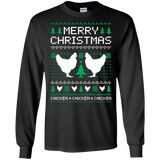 Chicken Ugly Christmas Sweater T-shirt, hoodie, tank