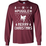 Puggle Ugly Christmas Sweater T-shirt For Puggle Lovers, hoodie, tank