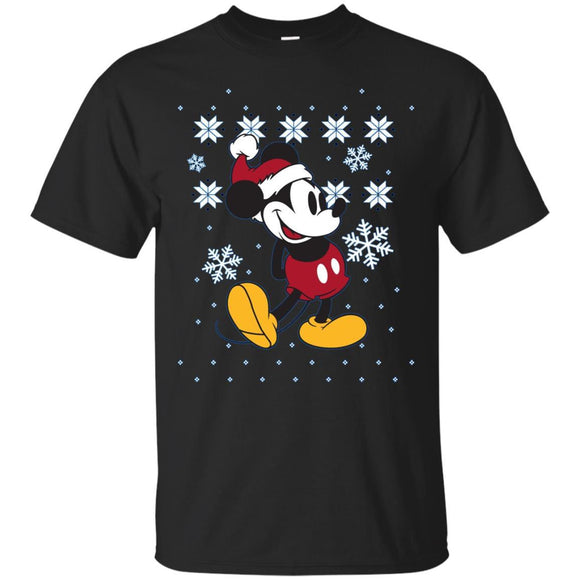 Disney Mickey Mouse Christmas Sweater Pose