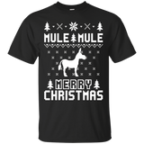 Mule Ugly Christmas Sweater T-shirt, hoodie, tank