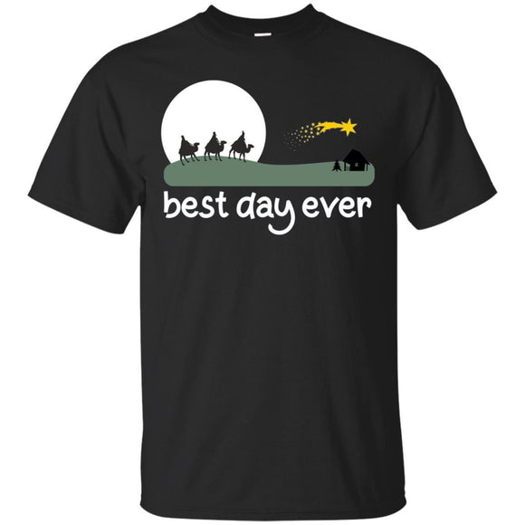 Nativity scene tshirt | Christmas best day ever long sleeve