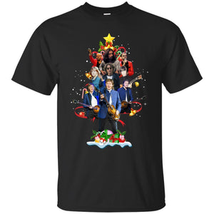The Beatles Tree Christmas Shirt Sweater