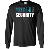 Mermaid Security T-shirt: Merman