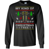 Drag Racers Racing Christmas Tree Sweater Gift T-Shirt