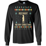 Meerkat Christmas T-Shirt, Sweater Vintage Retro T-Shirt