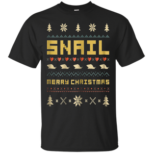 SNAIL Ugly Christmas Sweater T-Shirt Vintage Retro Style, hoodie, tank