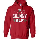 ELF Granny Season Matching Christmas T-Shirt Family Xmas