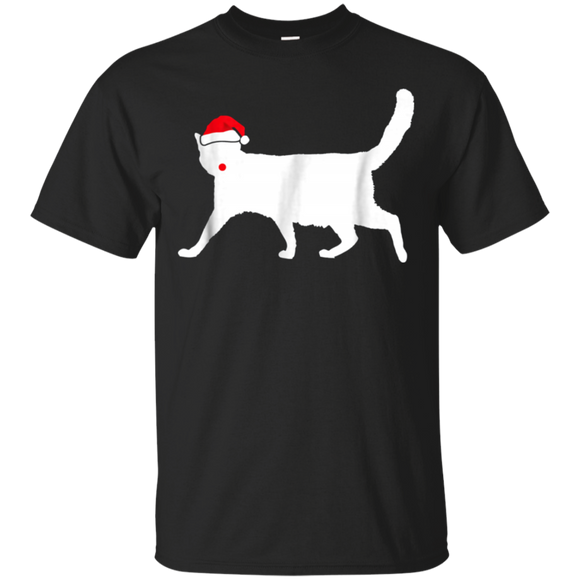 Seal Point Santa Hat T-Shirt Gifts For Christmas Day
