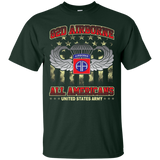 82nd Airborne Division - All Americans US Army Tshirt