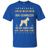 Mini-Schnauzer Ugly Christmas Sweater T-shirt Gift For Xmas