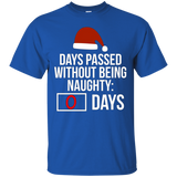 Zero Days Passed Without Being Naughty - Funny Christmas