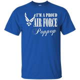 Mens Pride U.S. Army - I'm a Proud Air Force Poppop T-shirt