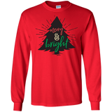 Merry And Bright Plus Full Tree Christmas Size Shirt