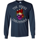 Perez Family Reunion Christmas Candle Wreath T Shirt