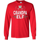 ELF Grandpa Season Matching Christmas T-Shirt Family Xmas
