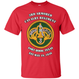 3rd Armored Cavalry Regiment - Ft Hood 3rd ACR vets T-shirt