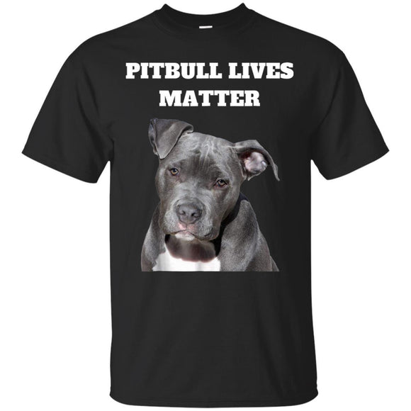 Pitbull Lives Matter Animal Rights TShirt JAQ T-Shirt