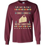 Cake Christmas T-shirt, Ugly Christmas Sweater T-shirt