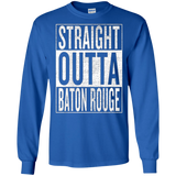 Straight Outta Baton Rouge Great Travel & Gift Idea T-Shirt