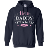 Mens New Daddy It's A Girl 2017 Gender Reveal T Shirt