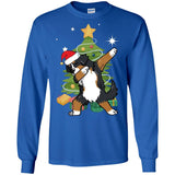 Bernese Mountain Dog Christmas Shirt Cute Dabbing Funny Gift