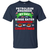 Petroleum Engineer Eater Long Sleeve T-shirt Food Christmas