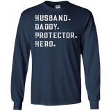 Mens Husband Dad Shirt From Wife Daughter Son