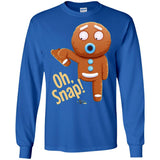 Oh Snap Shirt - Gingerbread Funny Christmas T-shirt