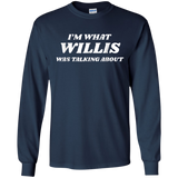 I'm What Willis Was Talking About 80s Shirt for Women or Men