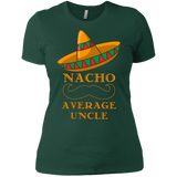 Men's Uncle Gift T-Shirt Funny Nacho Average Uncle Tee Shirt
