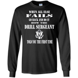 Army Drill Sergeant T Shirt Gift Idea Drill Instructor
