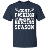 Hunters Christmas Shirt - Gift Tee for Hunters and Fishermen