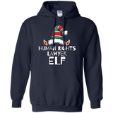 Human Rights Lawyer Elf Funny Tshirt Christmas Holidays Xmas