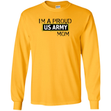 Im A Proud US Army Mom Military Mothers Day T-Shirt
