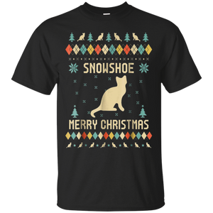 Snowshoe Christmas T-shirt, Ugly Christmas Sweater T-shirt