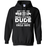 Uncle Dave Shirt Really Cool Dude Funny Niece Nephew Gift