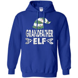 Grandfather ELF Hat Lights Christmas T-shirt Xmas Season