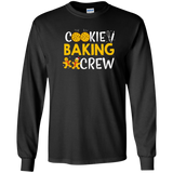 Cookie Baking Crew Christmas T-shirt Baker Baked Gingerbread