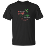 Let every heart prepare Him room Christmas caroling shirt