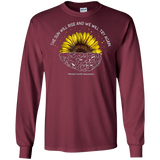 The Sun Will We Try Again Sunflower Brain Tee Mental Health