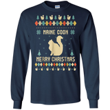 Maine Coon T-shirt, Ugly Christmas Sweaters T-shirt