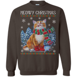 Ugly Christmas Sweaters Cat With Christmas Meowy Chritstmas Hoodies Sweatshirts